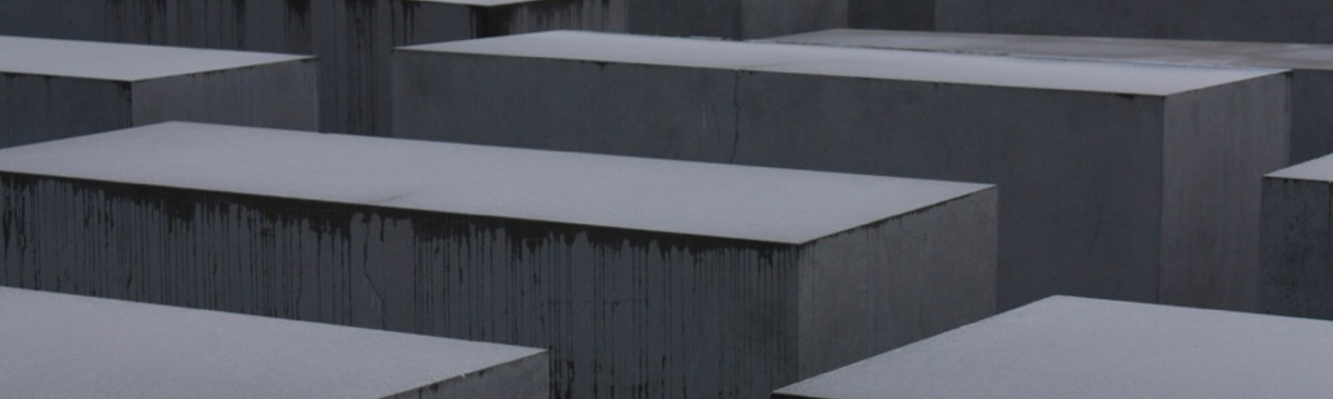 Memorial to the Murdered Jews of Europe, Berlin. Copyright: Victoria Nesfield After many years of often-heated debate surrounding the establishment of a permanent memorial to the Jewish victims of the Holocaust in the German capital, the memorial fin